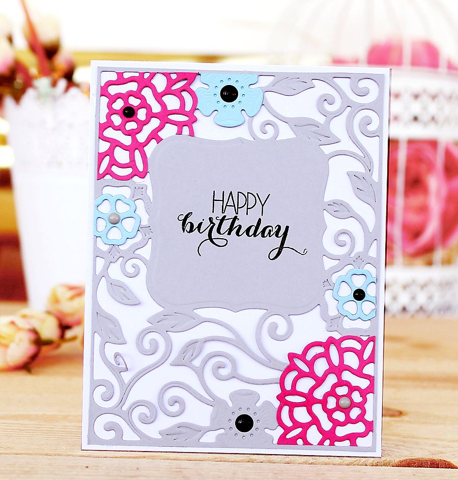 Listivka Happy Birthday Birthday Cards Card Creator Punch Cards