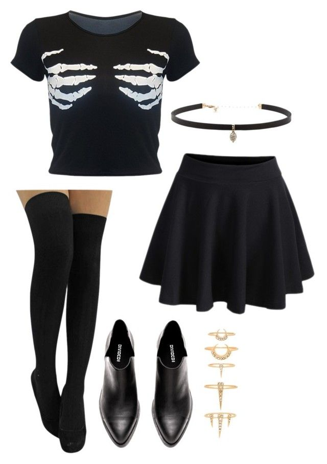 """""""Happy Halloween"""" by jea559 on Polyvore featuring Carbon & Hyde and Luv Aj"""