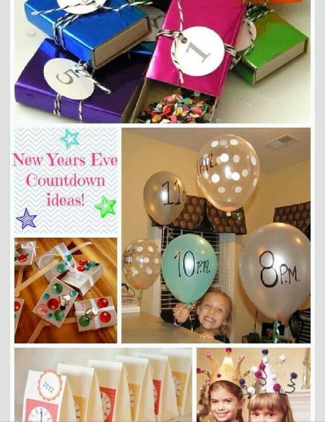 New years | New year's eve countdown, Sleepover party ...