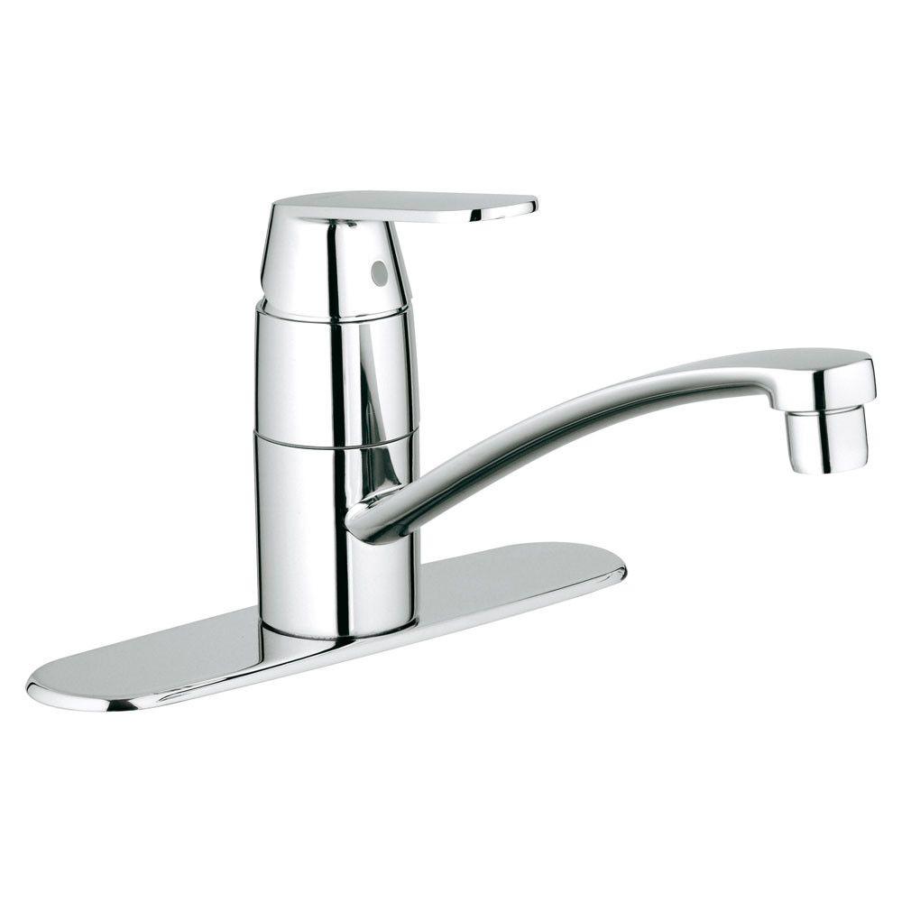 Grohe Eurosmart Single Handle Single Hole Standard Kitchen Faucet Kitchen Faucet Grohe Kitchen Faucet Kitchen Faucet Parts