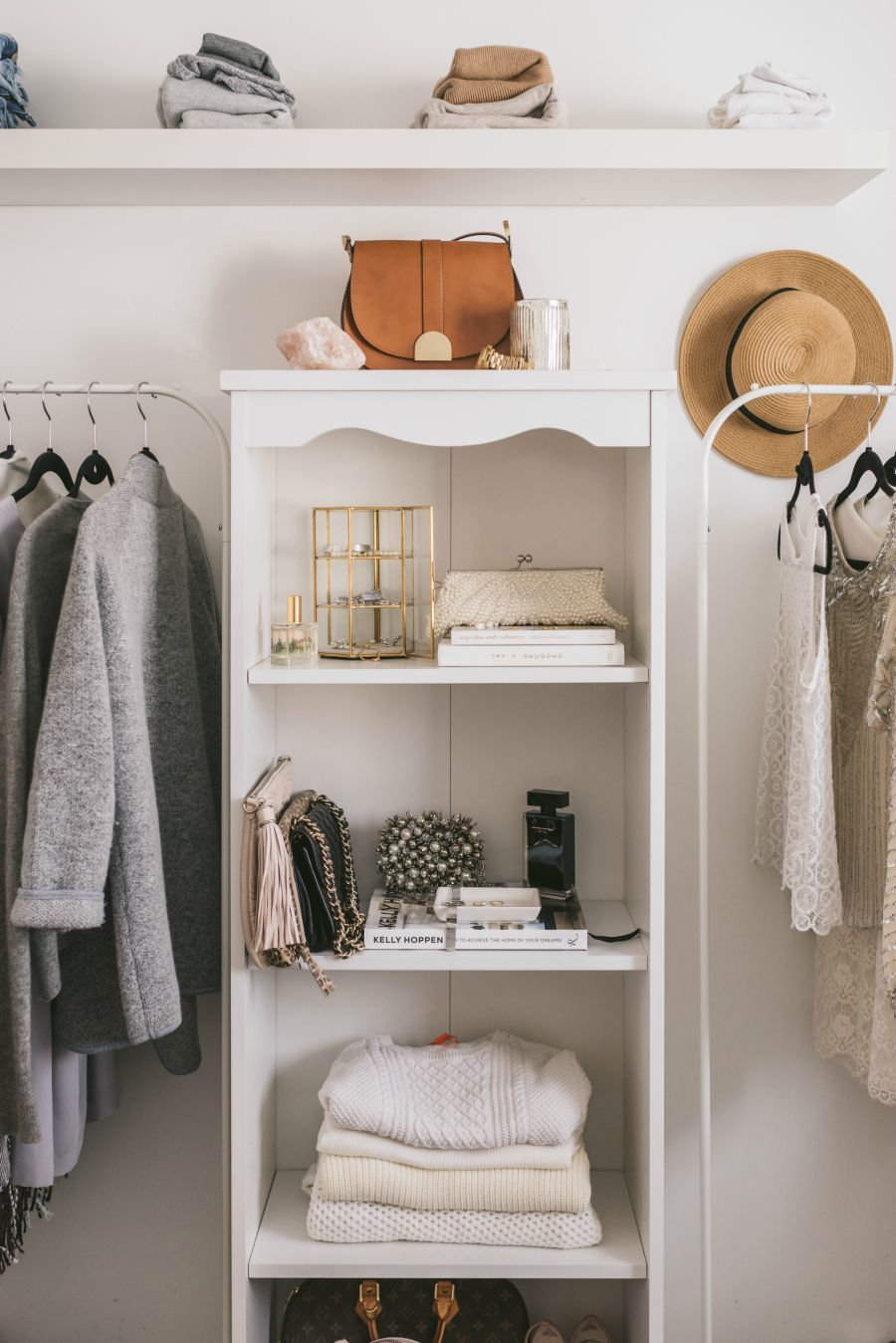7 Genius Storage Solutions When Youu0027re Low On Closet Space