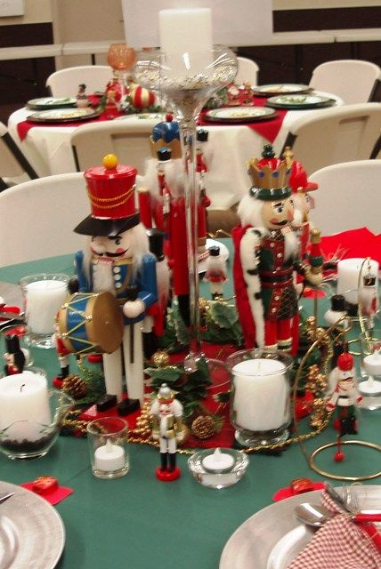 Nutcracker Centerpiece Nutcracker Christmas Decorations