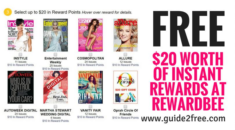 FREE $20 Worth of Rewards at RewardBee (Spend it Instantly!) | Books