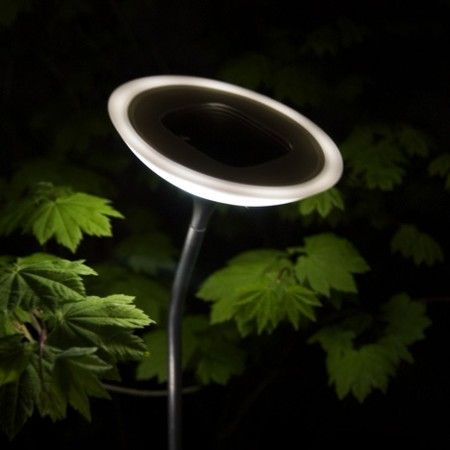 solar powered outdoor lighting system from corona outdoor spaces