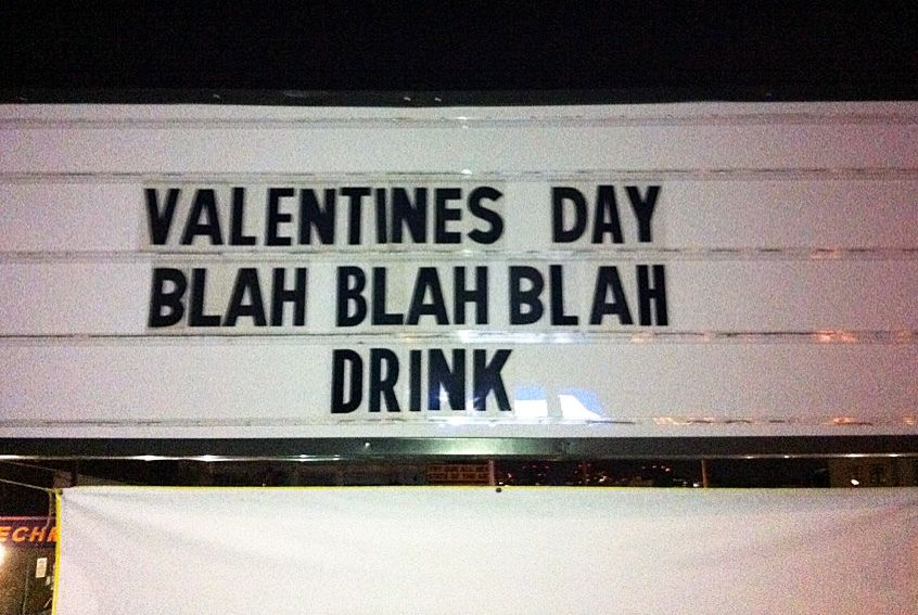 Valentines day  blah blah blah Drink