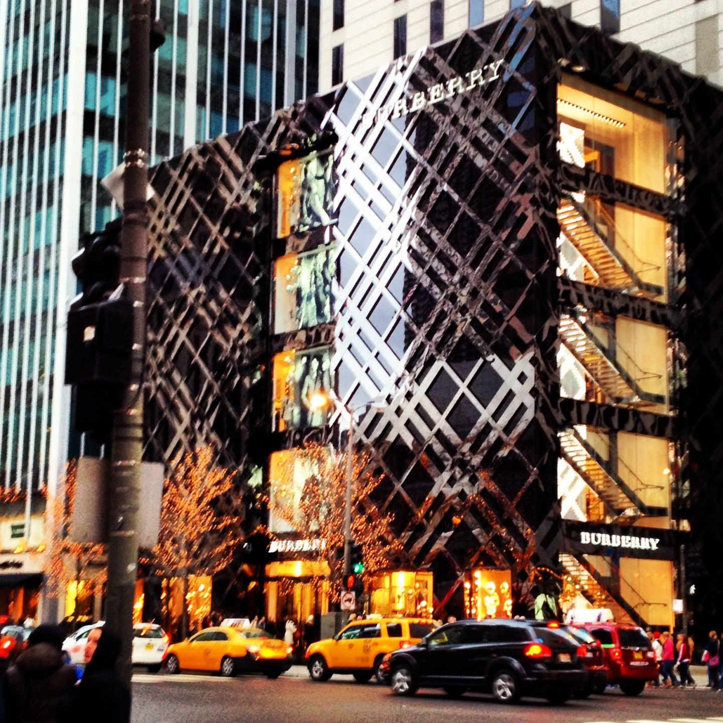 Burberry on Michigan avenue Chicago<< next time @Melissa Squires ...