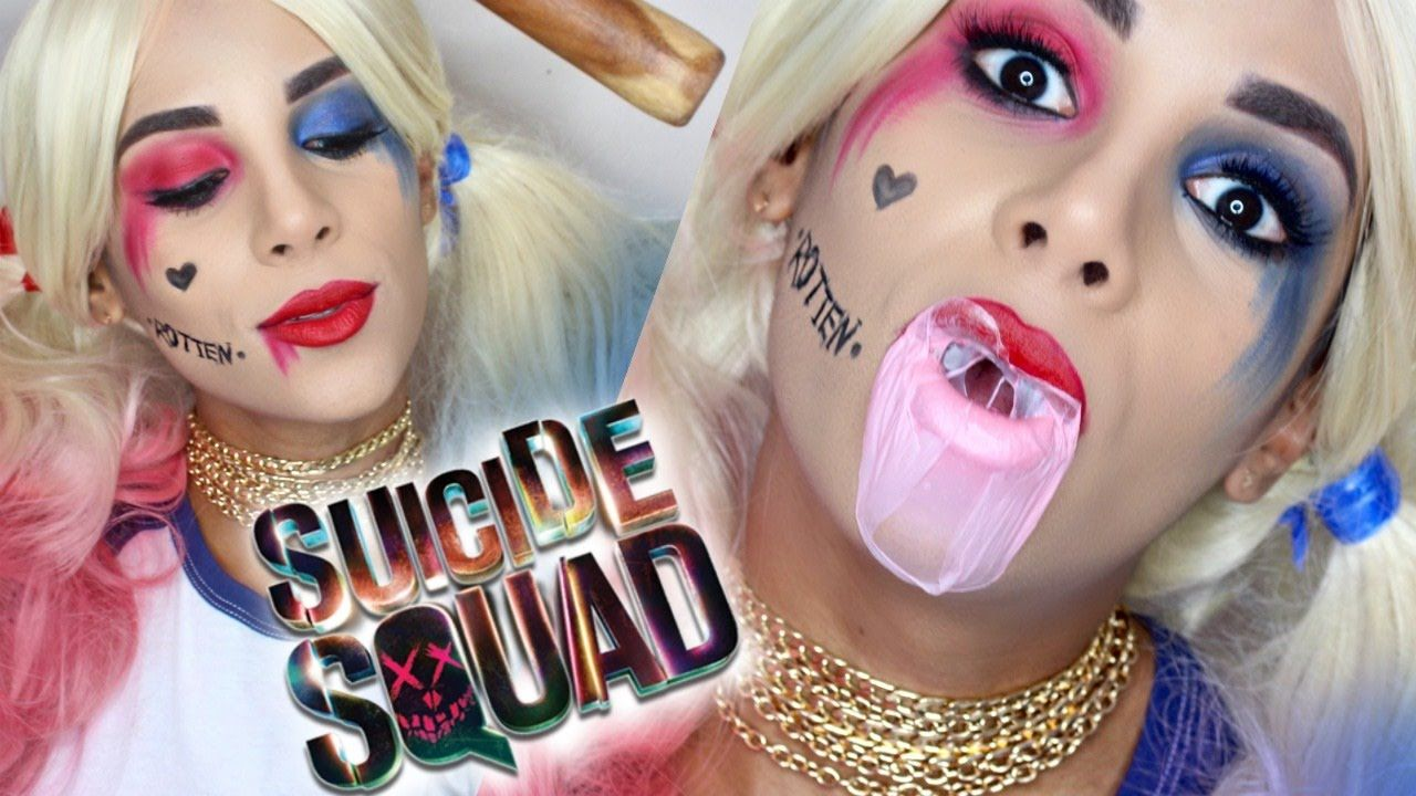 Harley Quinn SUICIDE SQUAD | Easy Halloween Tutorial