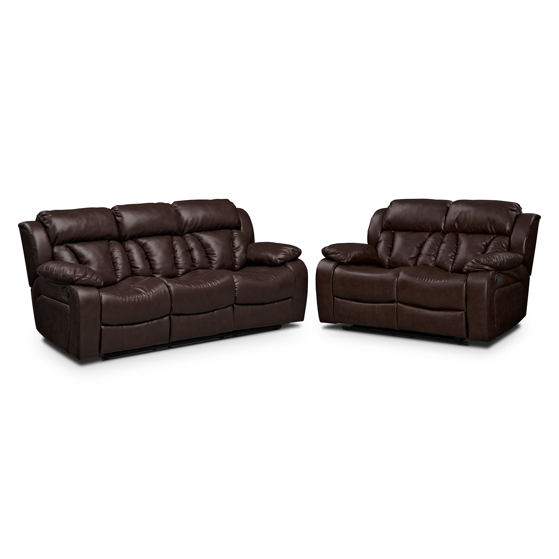 Astounding Living Room Furniture Maverick 2 Pc Reclining Living Room Inzonedesignstudio Interior Chair Design Inzonedesignstudiocom