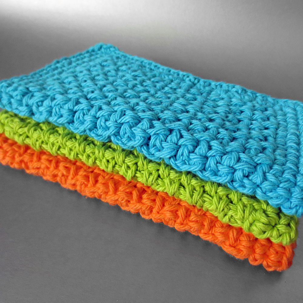 Winner Announced: Neon Dishcloth Giveaway!