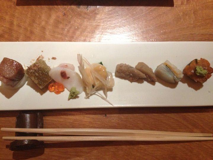 Ichimura At Brushstroke Ultratraditional Sushi Brush Strokes Omakase Favorite