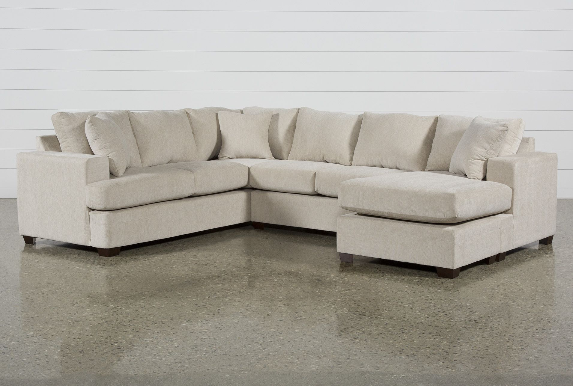 Kerri Sand 2 Piece Sectional With Raf Sofa Chaise Facing Sofas Chaise Sofa Living Spaces Furniture 2 piece sectional sofa with chaise