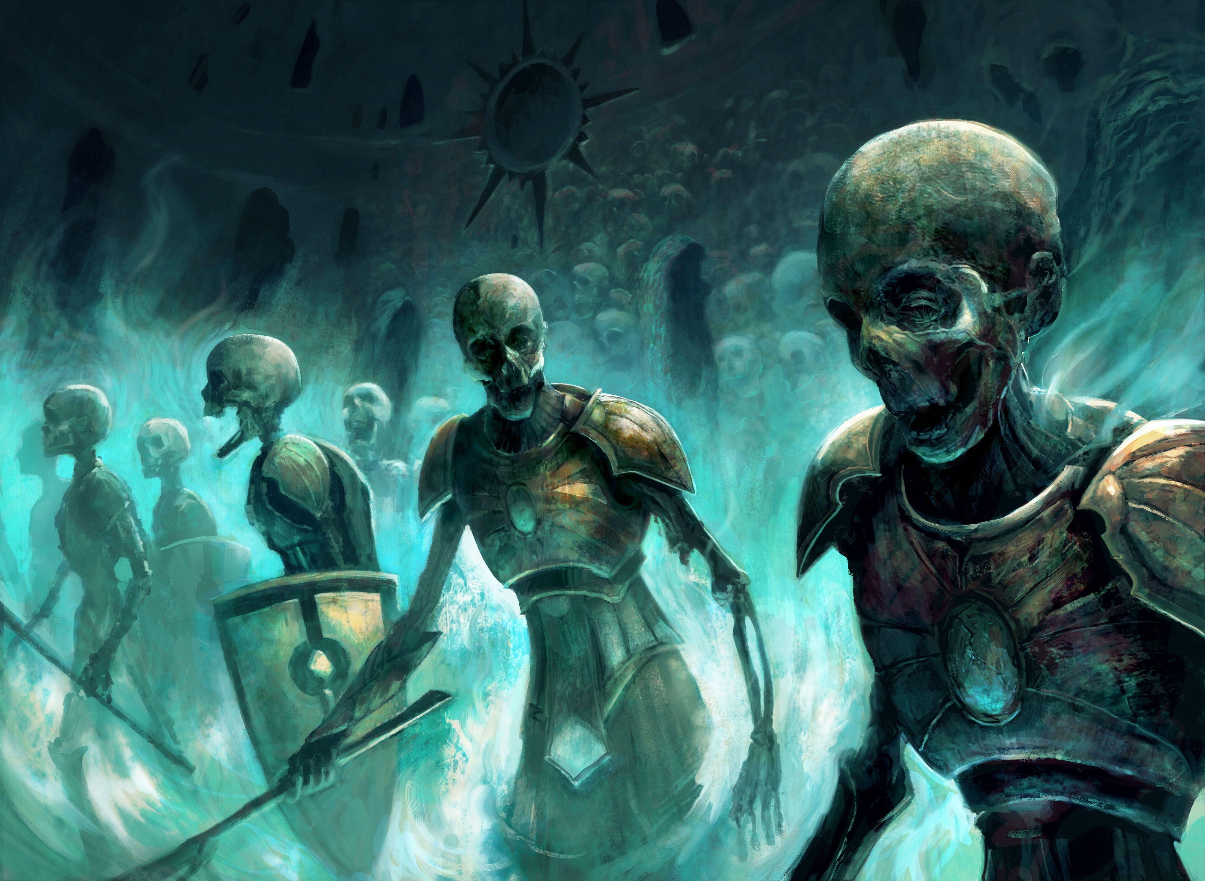 Imgur Com Dark Fantasy Zombie Wallpaper Mtg Art