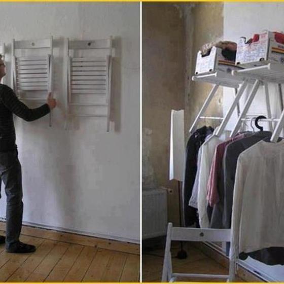Wohnideen Garderobe wenn stühle zur garderobe werden wohnideen stuhl