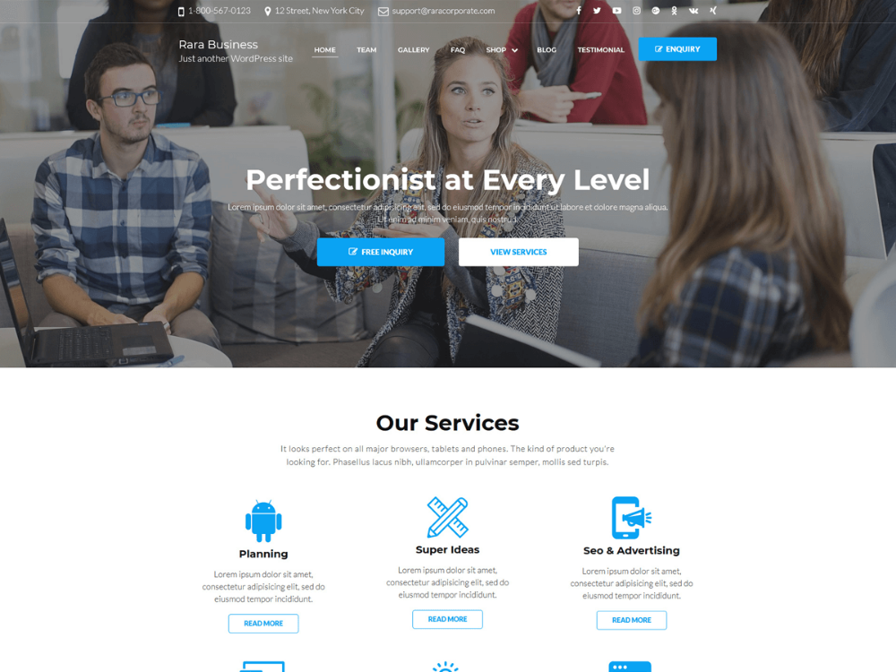 design a dating website