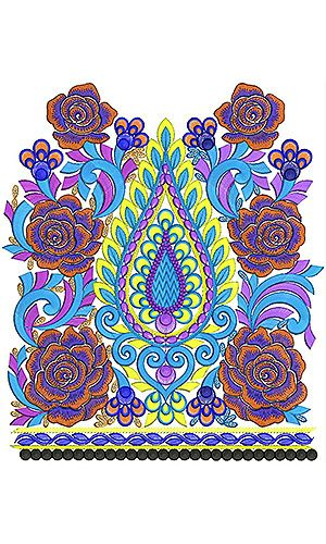 Computer Machine Embroidery Lace Design Borders Collection