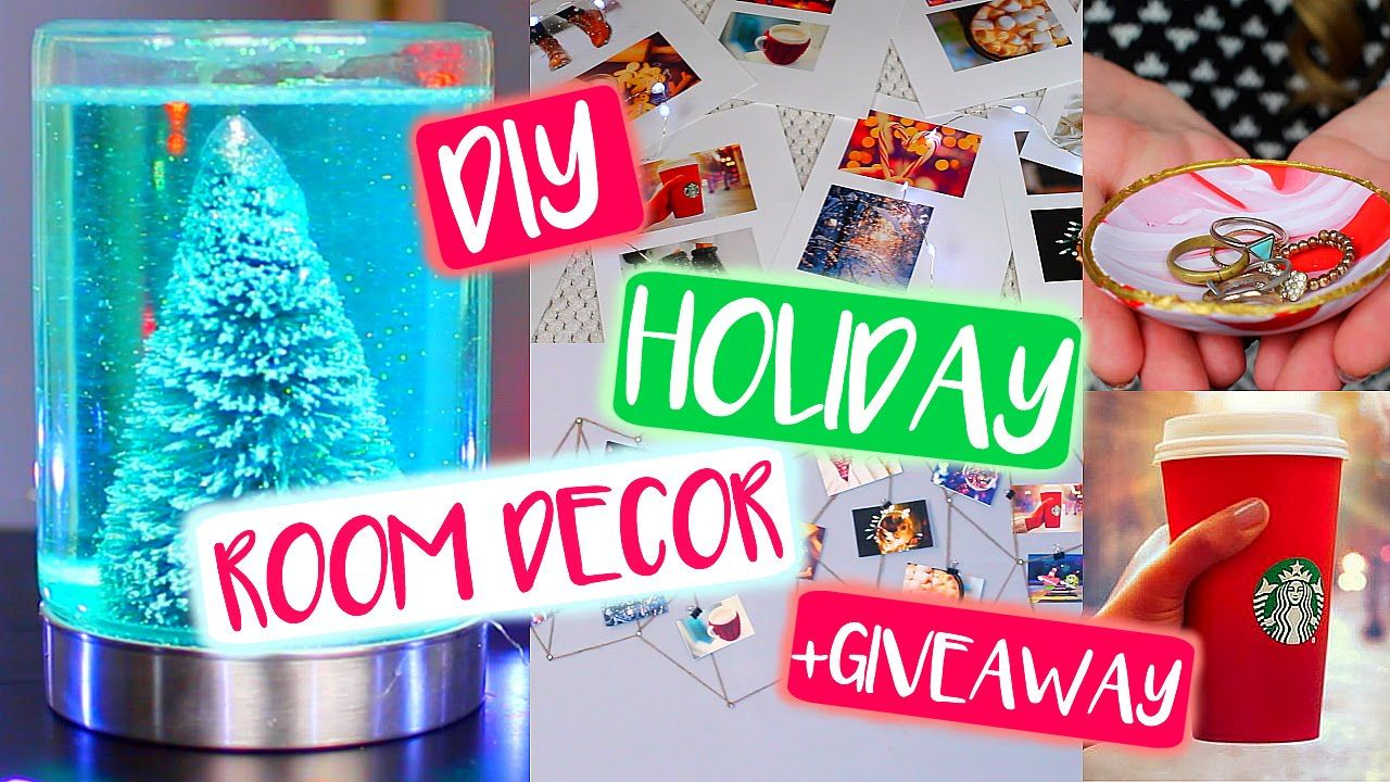 Easy Mason Jar Snow Globe Diy Tumblr Tumblr Room Decor Mason