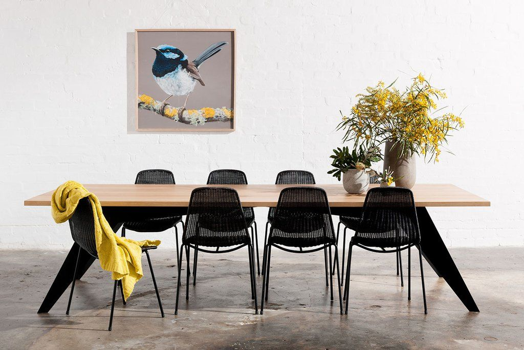 Dining industrial dining table Melbourne dining