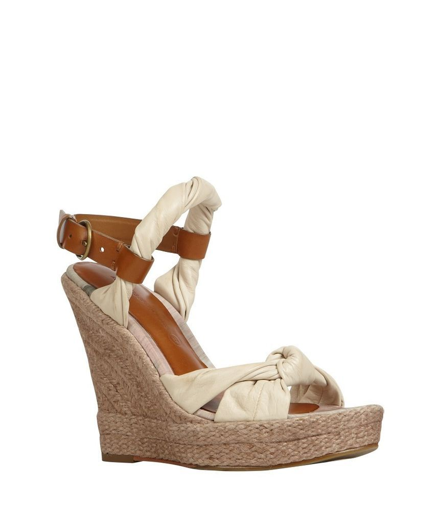 413346d54 Terrific ALLSAINTS Sola Espadrille Wedges sz 39, Chalk/Tan #AllSaints  #PlatformsWedges
