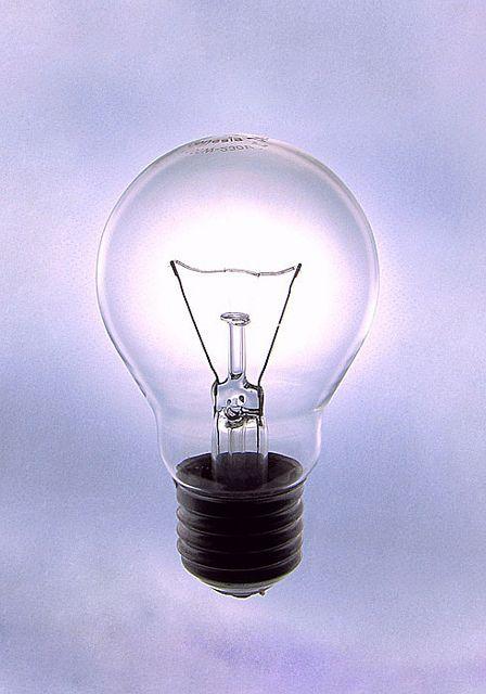 Light Bulb Marketing Trends Teaching Blue Gold