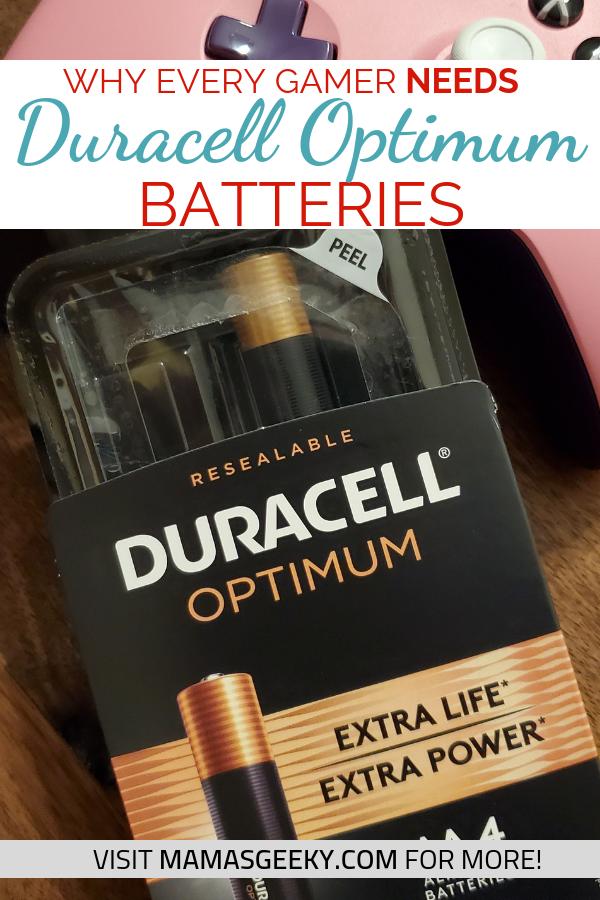 Why Every Gamer Needs Duracell Optimum Batteries Mama S Geeky Duracell Optima Battery Gamer
