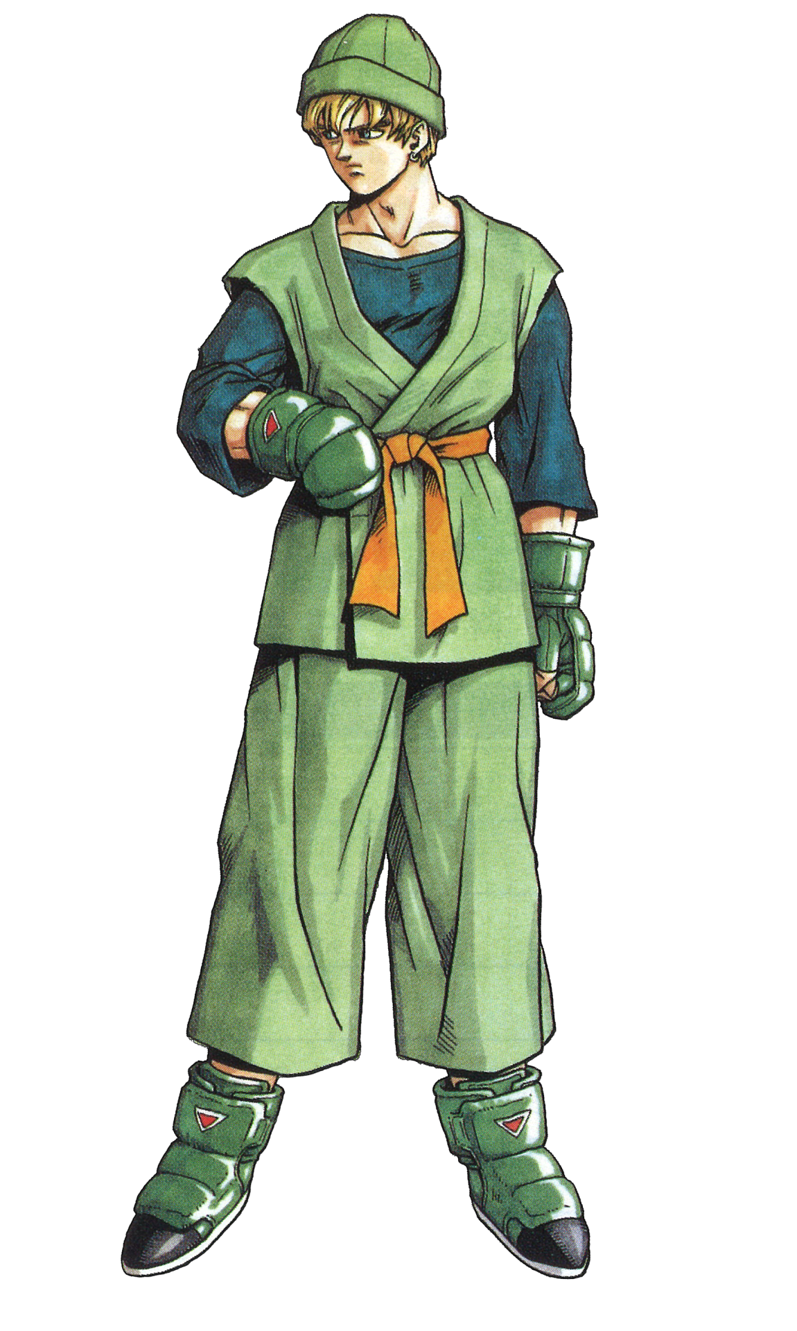 Gren Kuts From Tobal No 1 With The Original Akira Toriyama Artwork And 3d Face Follow Thevideogameartarchive On Tum In 2020 Anime Character Design Anime Artwork Art