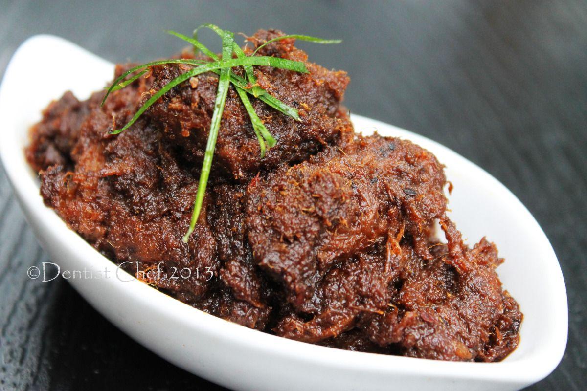 Indonesian Beef Rendang Recipe Resep Rendang Padang Khas Minangkabau Step By Step Resep Masakan Malaysia Resep Makanan Resep Daging Sapi