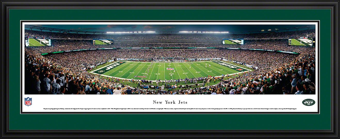New York Jets Panoramic - New Meadowlands Stadium Picture - 50 Yard  199.95 66fc6f294