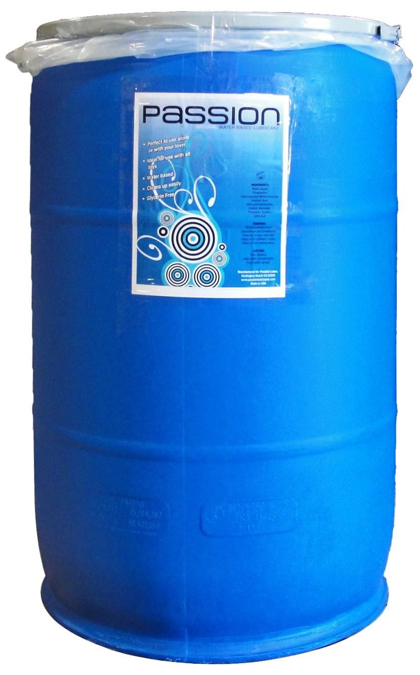 Passion Natural WaterBased Lubricant 55 Gallon 55