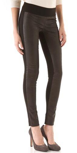1ba0c65311fa6 tasha leggings from #clubmonaco snake embossed faux leather | WEAR ...