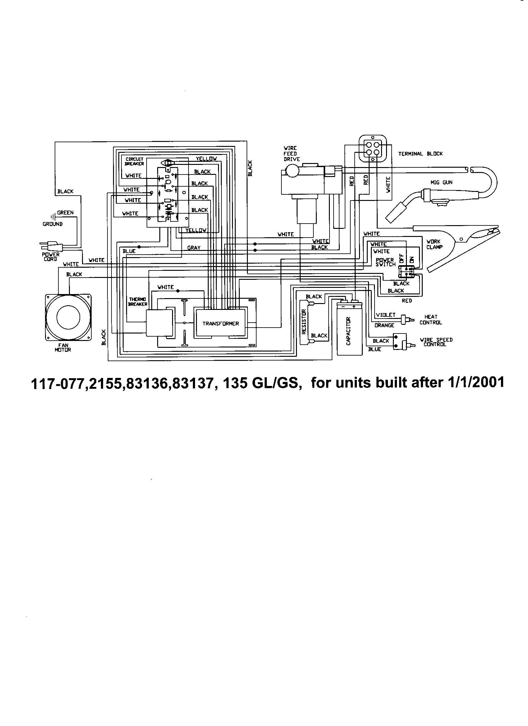 Lincoln Mig Welder Parts Diagram
