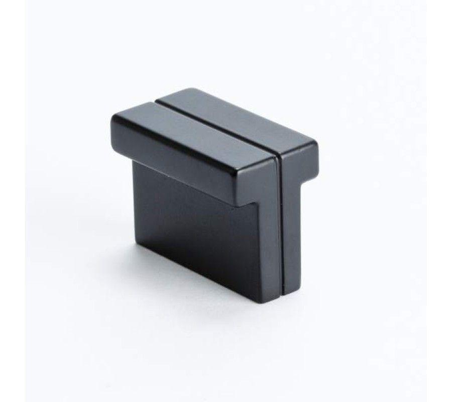 Decor Cabinets Hardware: Berenson Skyline Knob 1.375 In. Matte Black 9211-1055-P