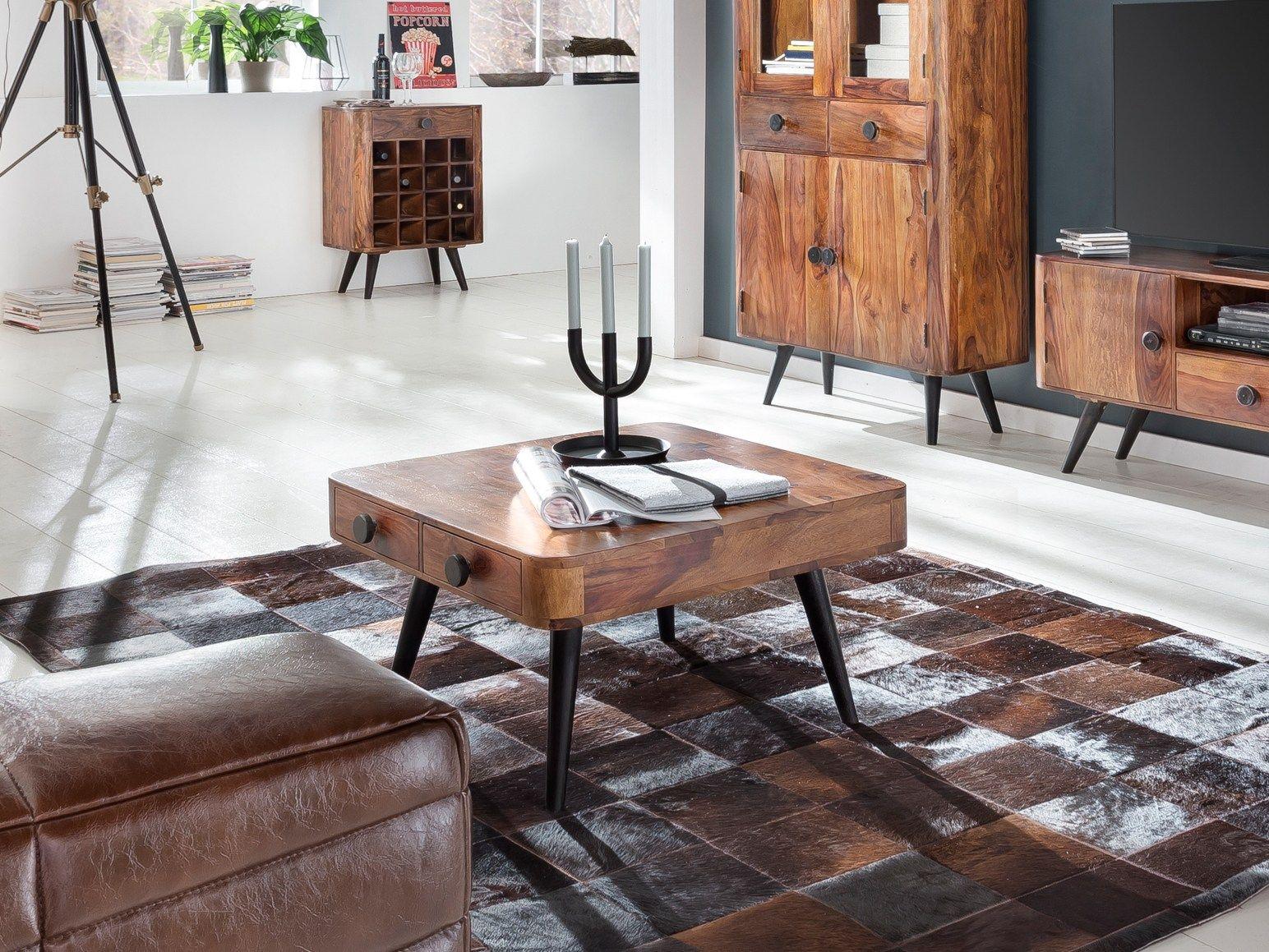 Sit-Möbel, Couch-Tisch, Sheesham, Knob, 08380-01 | Möbel | Pinterest