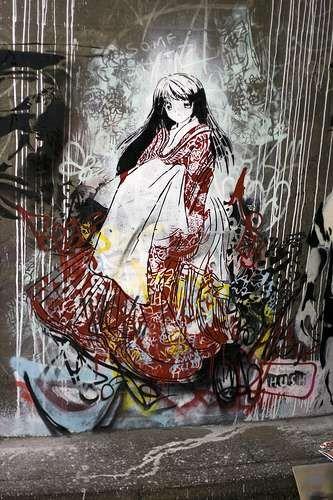 Anime Street Art Mit Bildern Streetart Graffiti