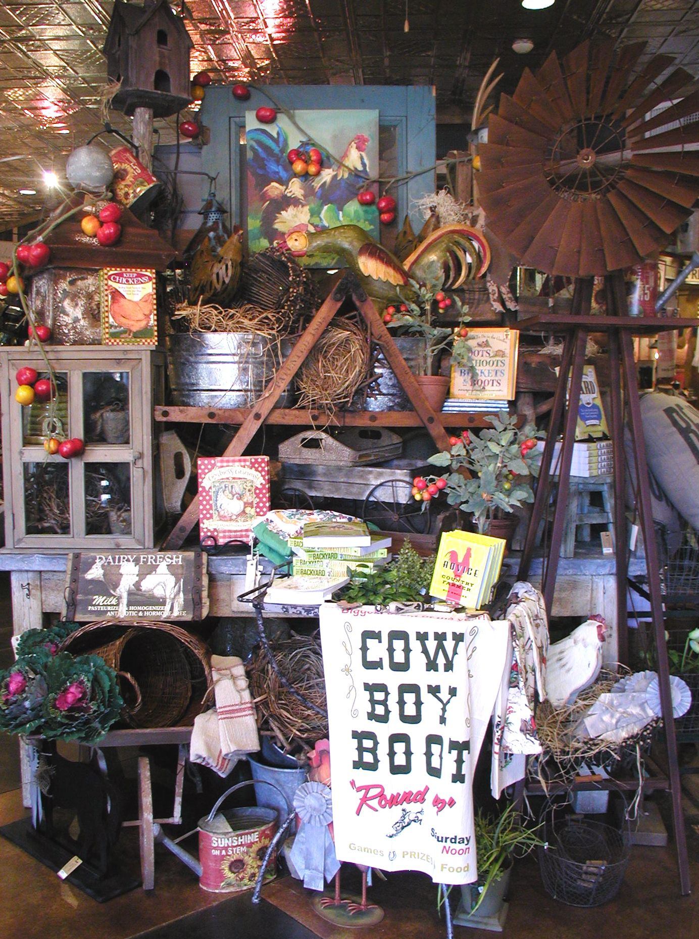 The Farmers Wife This Little Shop Is Filled With Rustic
