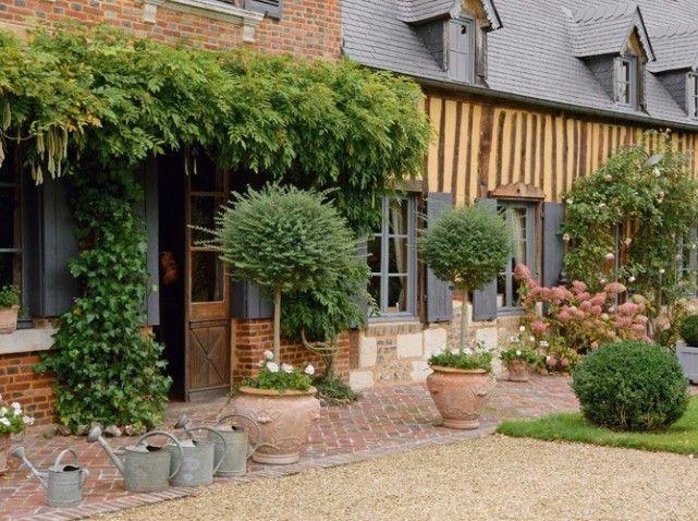 Aimeriez vous avoir une maison avec jardin for Decoration jardin campagne