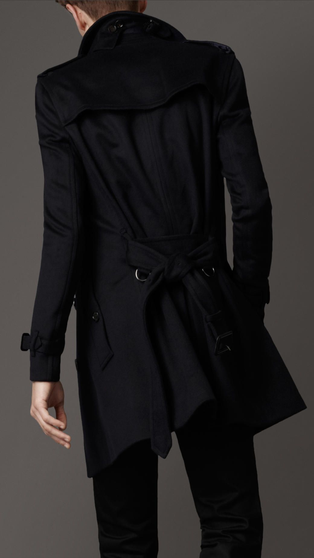 Burberry trench wool coat