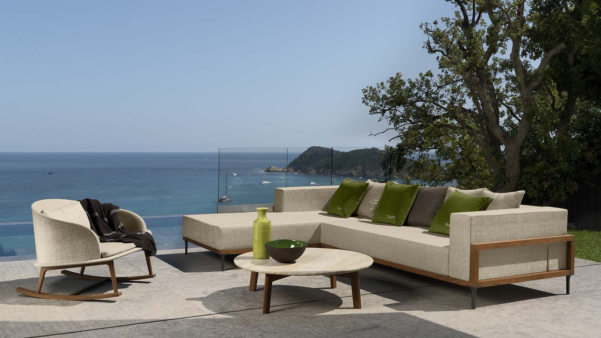 Talenti outdoor furniture from italy sofa armchairs chairs rocher luxury coastal living