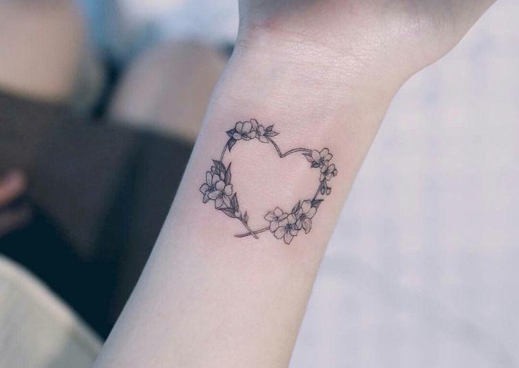 Tatouage Cœur Tel Quel Ou Agremente Pourquoi Et Sur Quel Endroit