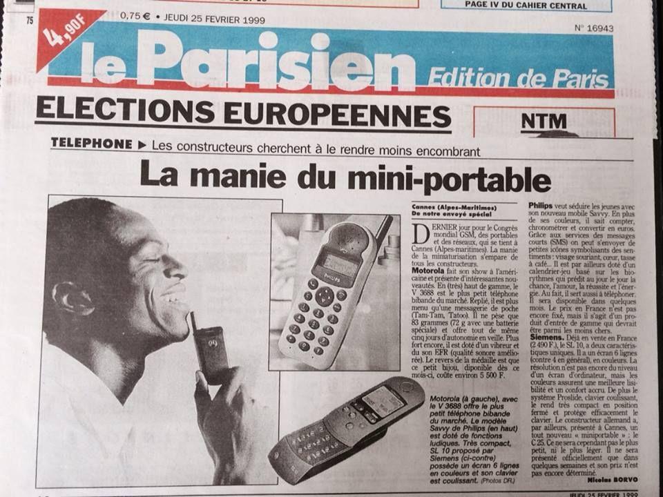 Edition du 6 février 1999