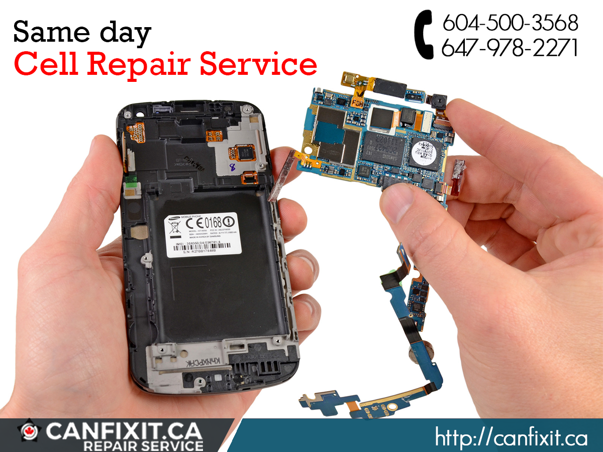 CanFixIt Canada offers same day phone repair service