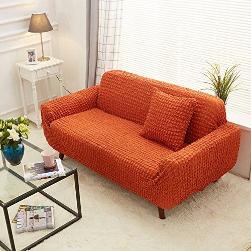 Astounding Jiaqi Solid Color Sofa Cover Stretch Sofa Covers Anti Slip Short Links Chair Design For Home Short Linksinfo