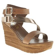 womens schuh tan sundown sandals