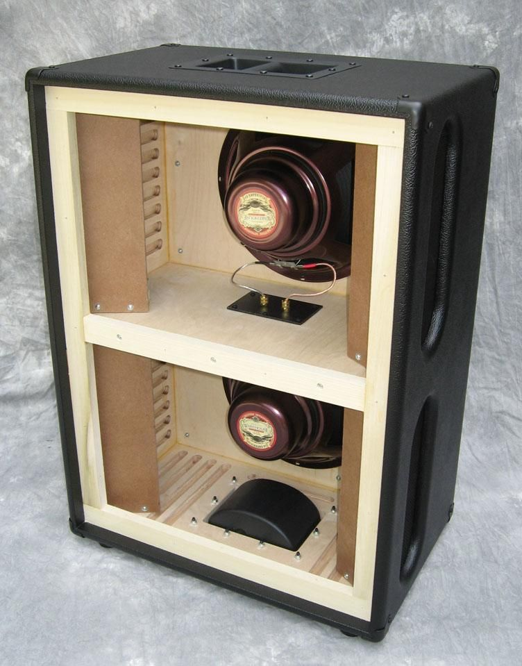 how to build a 2x12 speaker cabinet
