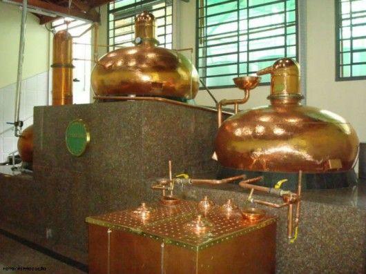 Producao De Cachaca Organica Destilacao Do Vinho Para A Producao