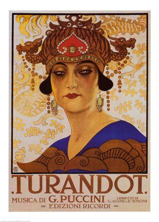 Vintage La Traviata Metropolitan Opera Poster A3 Print