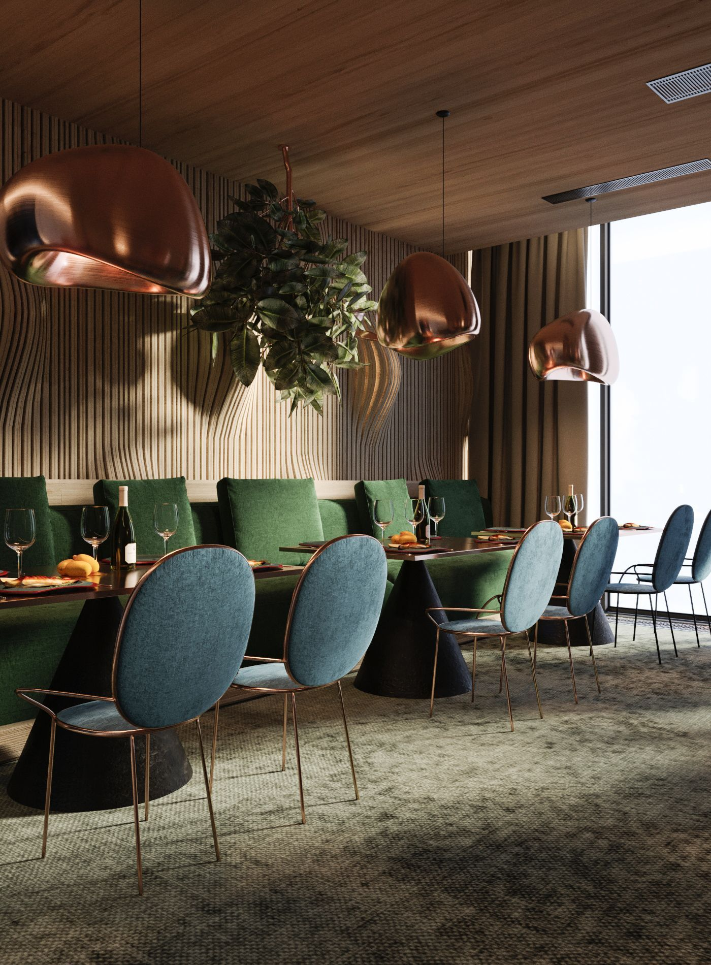 Browse more interior design ideas at https artplanat com bar restaurant