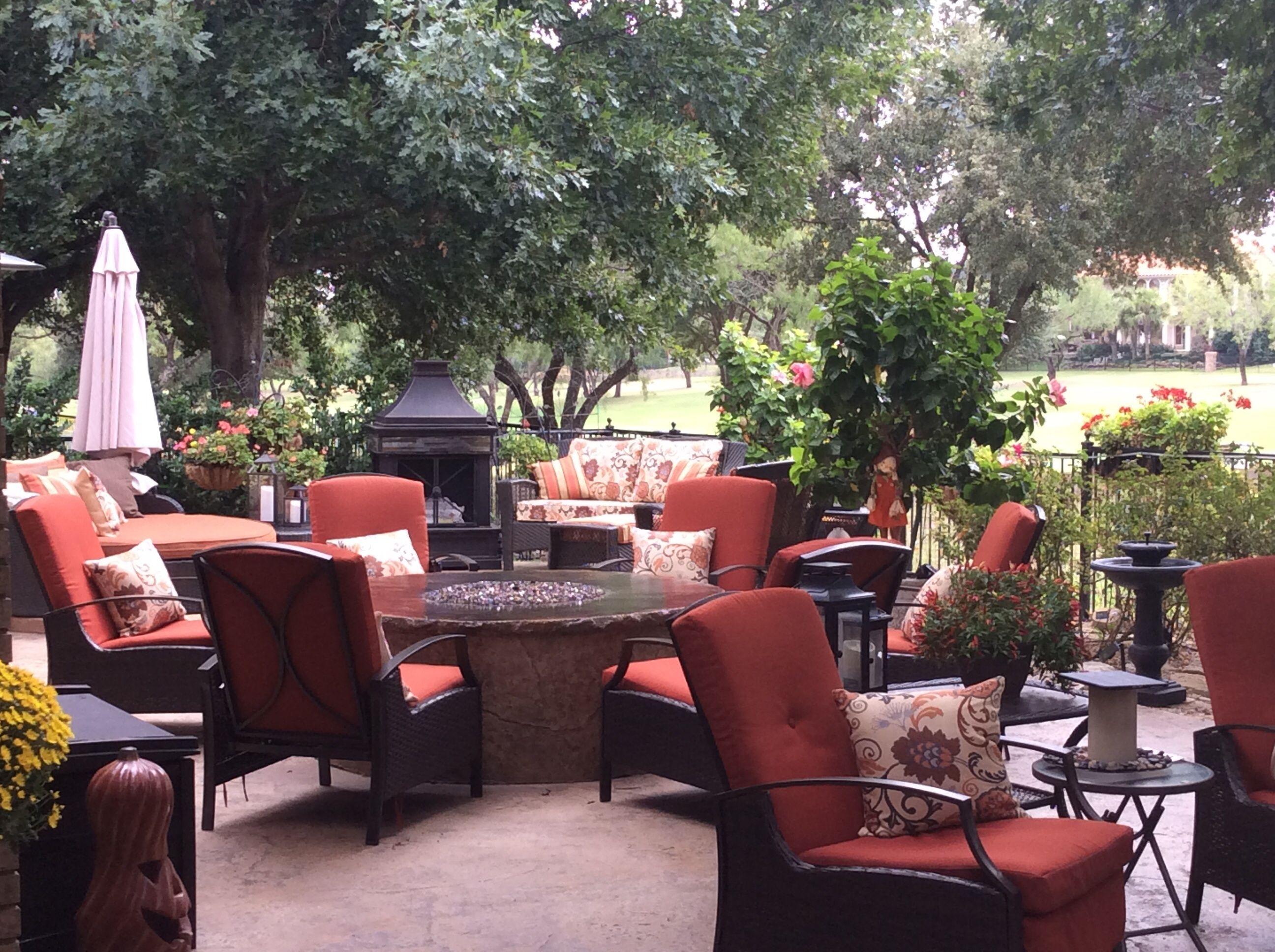 my new backyard ready for fall entertaining delia whitmore