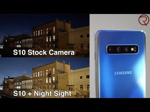 In this video I try out the Google Camera app and the Night Sight on