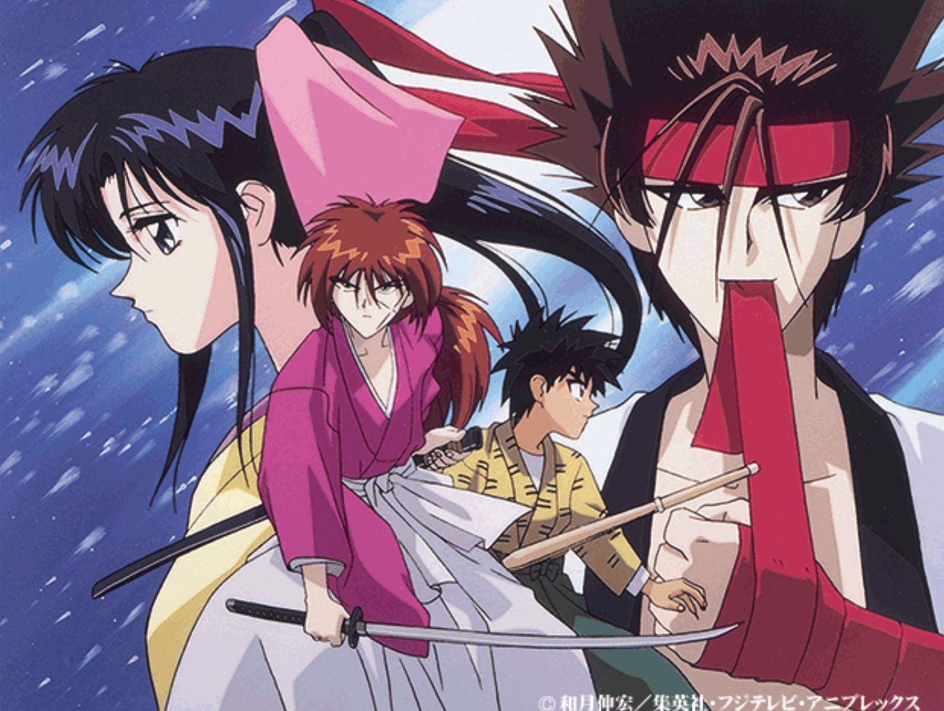 Rurouni kenshin! Kenshin anime, Rurouni kenshin, Anime