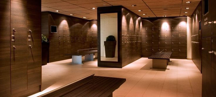 Locker Room Lighting Gym Interior Spa Rooms